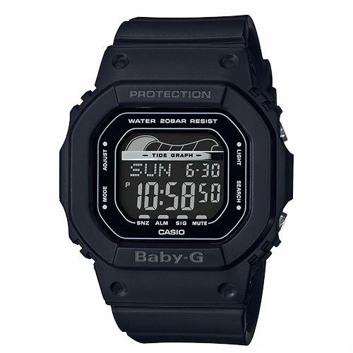 CASIO卡西歐BABY-GBLX-560-1夏季海灘復古滑板潮汐數位腕錶