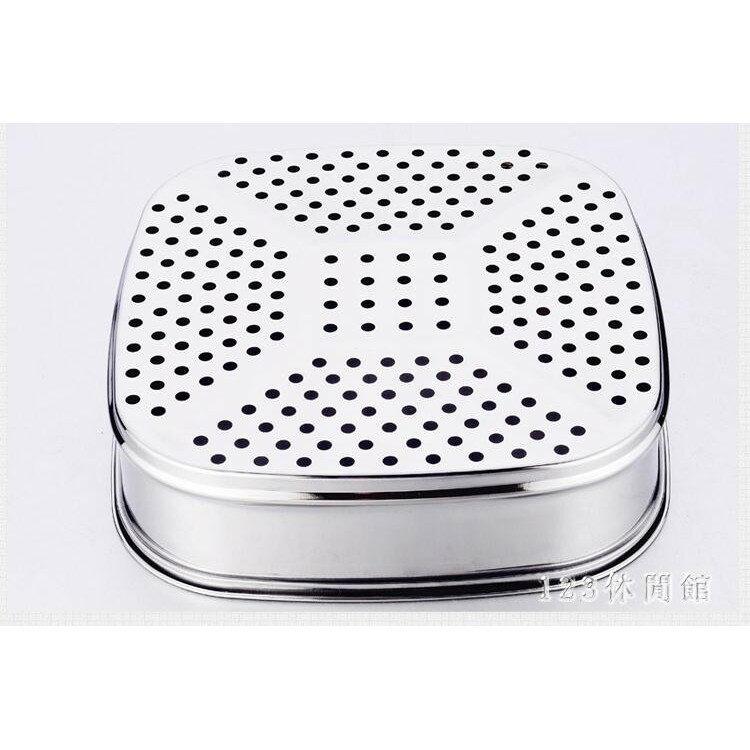 蒸籠蘇泊爾專用電熱鍋方形蒸籠 蒸片不銹鋼蒸格 電火鍋蒸蒸屜蒸架蒸簾 LH6502《小蘿莉》 1