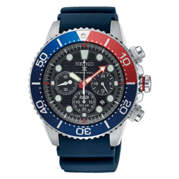 Seiko精工錶V175-0AD0X(SSC663P1PROSPEXPADI太陽能計時時尚潛水腕錶44mm