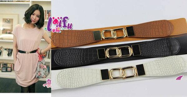 來福:來福,H222腰封皇冠腰封腰帶皮帶,售價199元