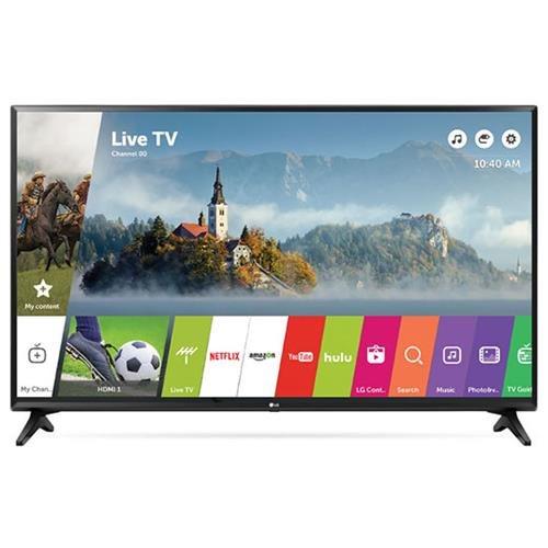 "LG LJ5500 55LJ5500 55"" 1080p LED-LCD TV - 16:9 - HDTV - Black - 1920 x 1080 - DTS, Virtual Surround - 20 W RMS - LED Backlight - Smart TV - 2 x HDMI - USB - Ethernet - Wireless LAN - PC Streaming - Internet Access 0"