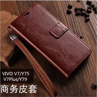 步步高VIVOV7星奇翻蓋商務保護皮套
