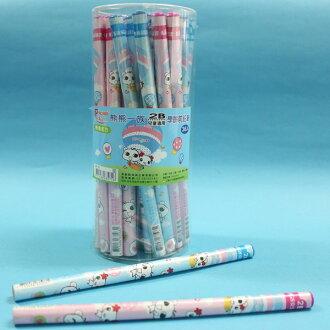 上禹熊熊一族2B 兒童專用大三角鉛筆 WP-16 學齡前鉛筆/一筒36支入{促12}~SGS無毒認證~