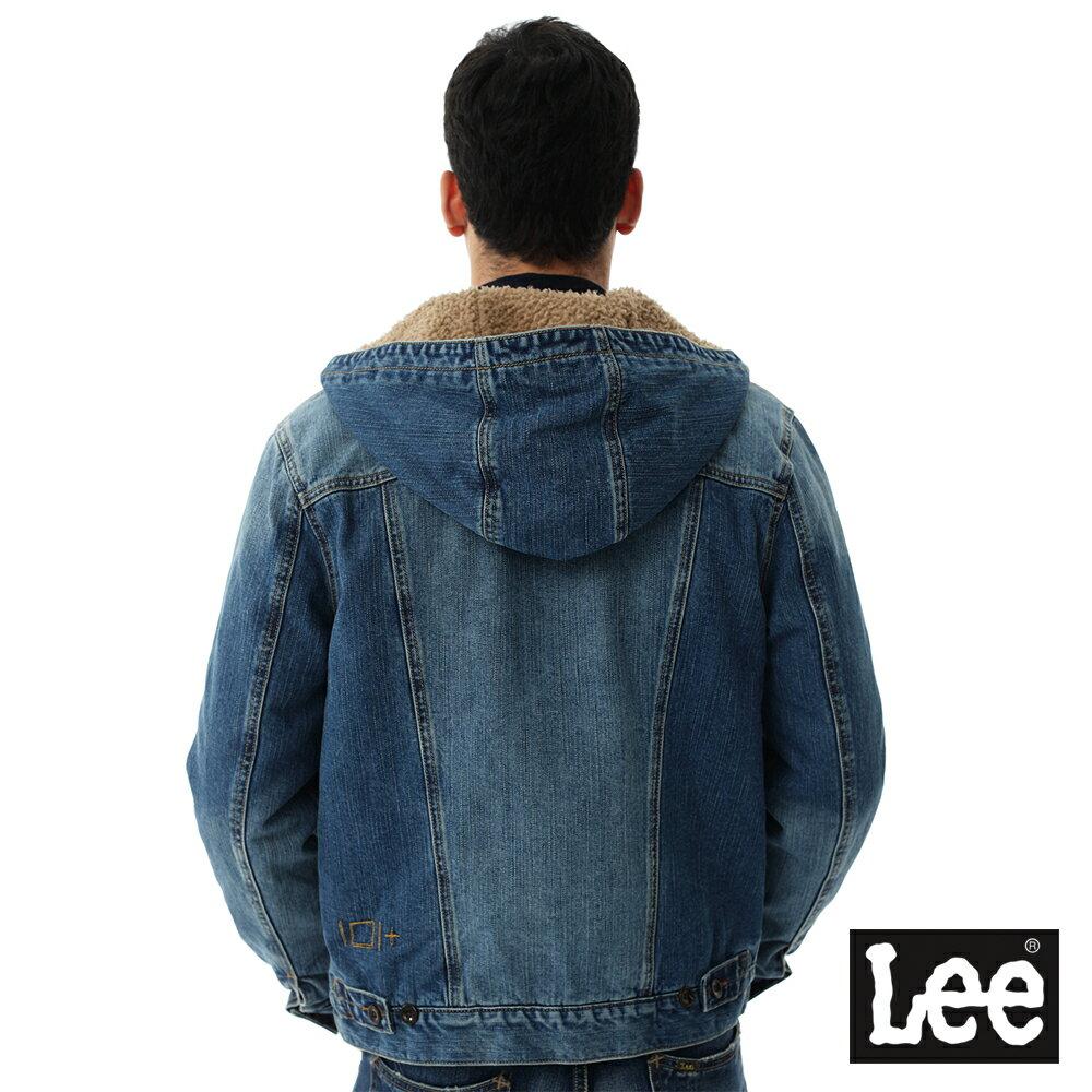 Lee 連帽牛仔外套 / 101+-男款-藍色 9