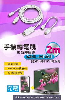❤含發票❤團購價❤【KINYO-手機轉電視影音傳輸線】❤手機/平板/三星/HTC/SONY/LG/影音/電視/HDMI/電影❤