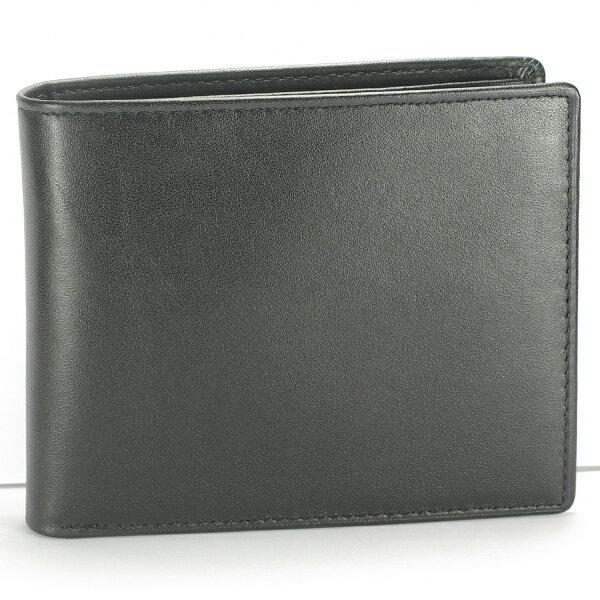 徽耀國際 Mark Honor:簡潔男用挺立皮夾黑色短夾-可加購客製化烙印