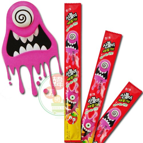 【韓購網】韓國酸酸軟糖(草莓口味)★海太酸酸軟糖★糖韓國必買韓國糖果