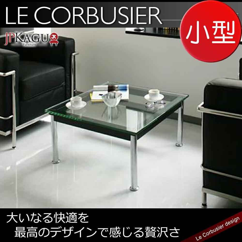 JP Kagu 柯比意 復刻工業風強化玻璃矮桌 茶几LC10~小