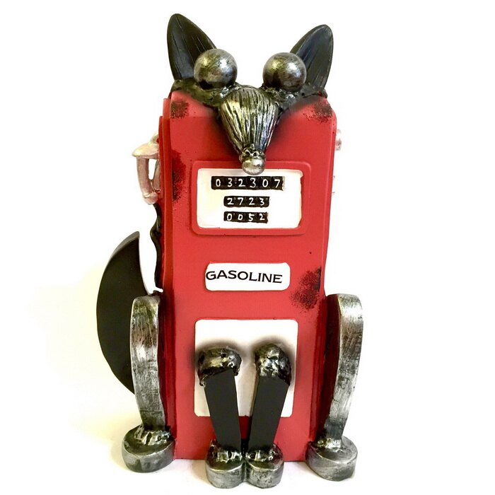 日本高山 擺飾 擬動物 工業風格 擺飾品 狐狸 日本直送 日本設計 - 限時優惠好康折扣