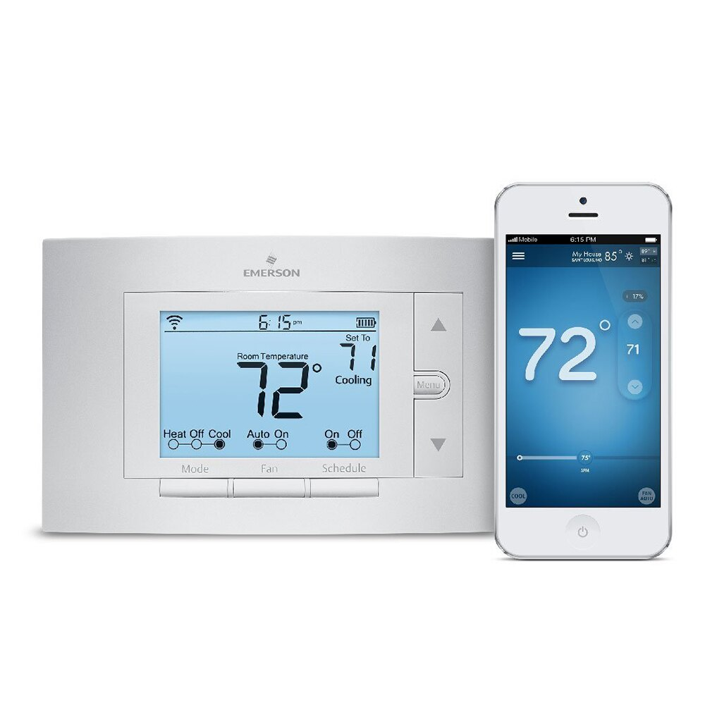 Emerson Sensi Wi-Fi Programmable Digital Thermostat UP500W for Smart Home 1