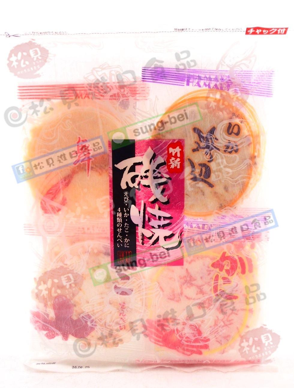 竹新磯燒海鮮煎餅96g【4901961035376】