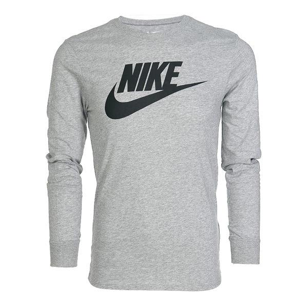 [尋寶趣]NIKE FOCA 運動 休閒 大學T 長袖 上衣 灰色 經典款 708467-063