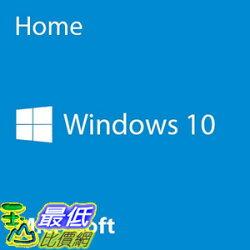 [106美國直購] Microsoft Windows 10 Home 64 Bit System Builder OEM | PC Disc
