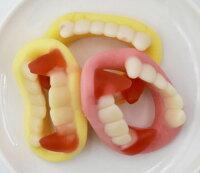 Yupi呦皮 大門牙軟糖─540g(萬聖節軟糖果、牙齒造型)▶全館滿499免運-慧鴻嚴選-美食甜點推薦