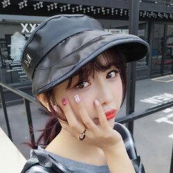 PS Mall 帽子夏天空頂帽太沿遮陽帽子M 【G1001】