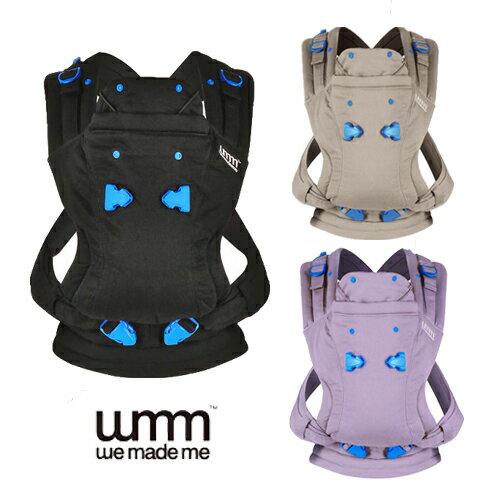 滿5000折850【寶貝樂園】WMM-Pao Papoose 3P3式寶寶揹帶( 沉靜黑/薰衣紫)