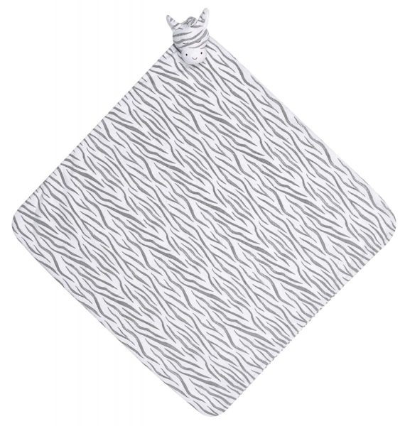 『121婦嬰用品館』美國Angel Dear 大頭動物嬰兒毛毯 斑馬AD2036(此商品售出不做退換) 0