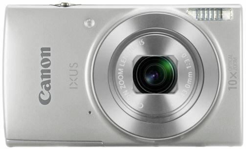 Canon IXUS 190 Silver Digital Compact Camera 0