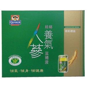 桂格 養氣人蔘補氣禮盒 60ml(8入)/盒