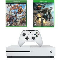 Xbox One S 1TB 4K BluRay Console w/Titanfall 2+ Sunset Overdrive