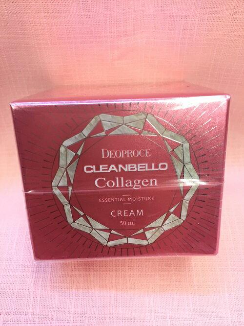 韓國CleanBello Collagen 膠原蛋白彈力面霜 60ml