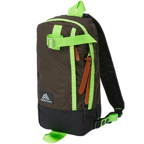 【【蘋果戶外】】GREGORY 65586 棕綠 Switch Sling 5L 休閒背包 日本潮包 都市旅遊 運動 爬山