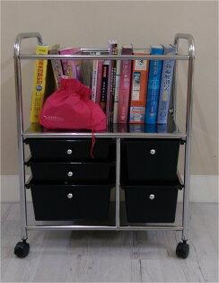 書櫃收納箱收納盒雜誌架書收納推車MIT台灣製(mamago)
