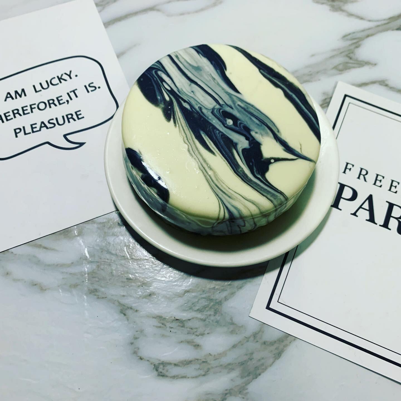 大理石重乳酪蛋糕 4吋 父親節蛋糕 情人節蛋糕 生日蛋糕 《給朕過來》