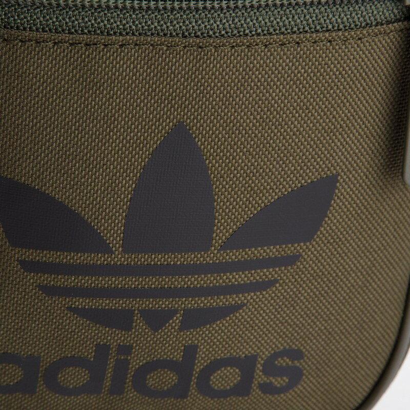 【毒】adidas originals 三葉草 腰包 小包 側背包 軍綠 DV2407 1