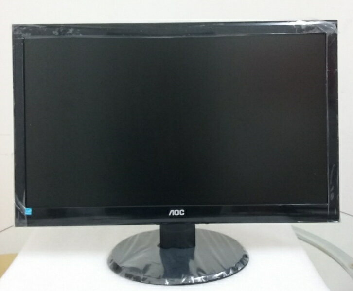 ★綠光能Outlet★AOC e2450Swh 24型三介面 LED寬螢幕