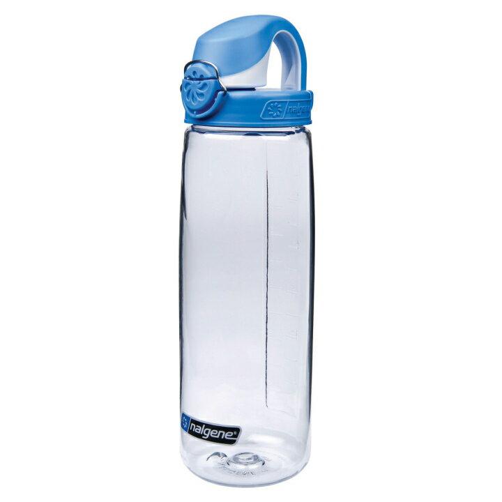 ~速捷戶外~NALGENE 5565~2024 OTF 型多 水壺 透明  藍蓋  650
