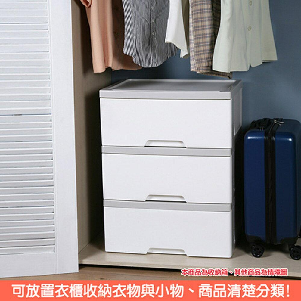 特惠-知多大容量單抽收納櫃28L(2入)