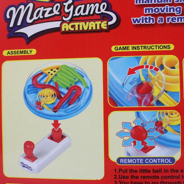 手搖迷宮 96788 軌道迷宮遊戲 / 一個入 { 促250 }  益智玩具 益智遊戲 手眼協調 闖關遊戲 桌上型益智彈珠台CF127933 1