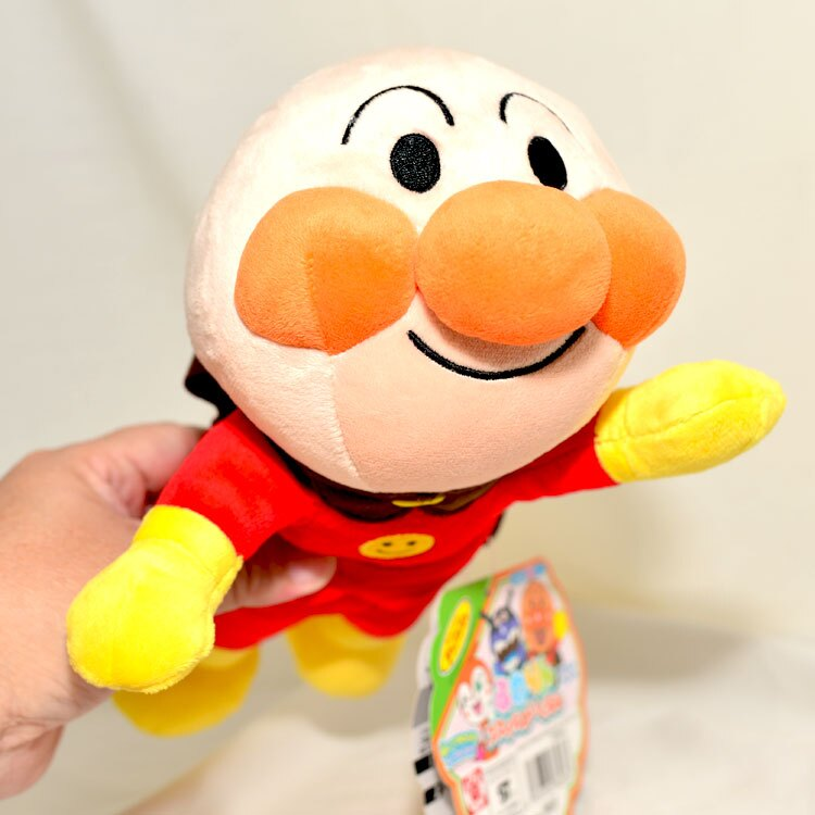 日本帶回 飛天 麵包超人 大型絨布玩偶 正版商品