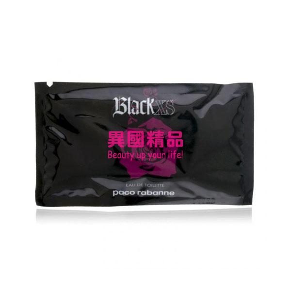 Black XS Paco Rabanne 女性針管香水 1ml EDT VIAL SPR【特價】§異國精品§