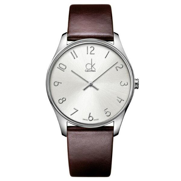 CK經典系列(K4D221G6)簡約風潮時尚腕錶白面32mm