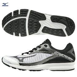 J1GA188309(白X黑)SONIC RUSH 一般型男款慢跑鞋【美津濃MIZUNO】