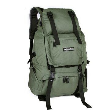 良林皮件:【LocalLion】40L休閒登山背包運動旅遊後背包(綠)062GN