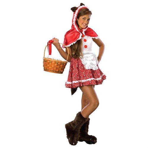 Red Riding Hood Tween Halloween Costume 0