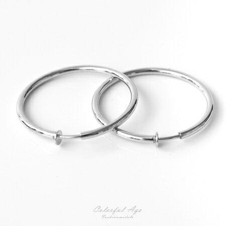 6公分圓形圈圈耳夾耳環【ND260】一對價格