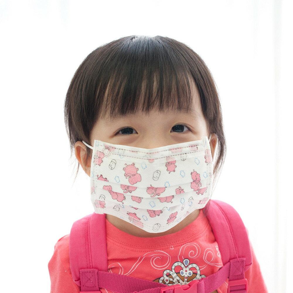 PS Mall 日韓卡通圖案 兒童平面防塵 保護喉嚨口罩50入~J871~ ~  好康折扣