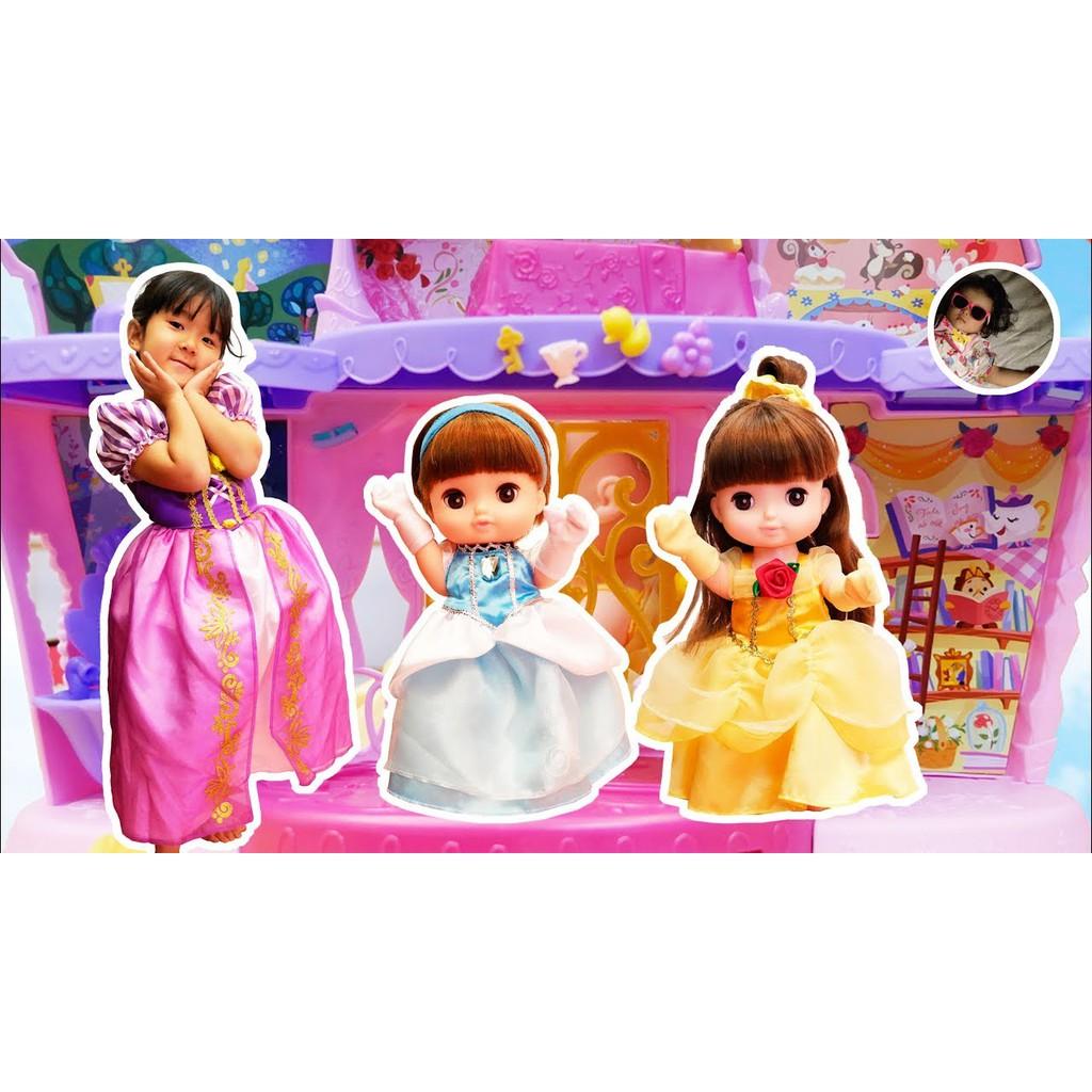 【預購】日本進口Solan沙奈娃娃 Remin 芮咪 貝爾 禮服套裝 迪士尼系列 DISNEY(※娃娃單獨出售)【星野日本玩具】