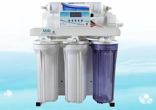 製ADD RO純水機~水質偵測全自動沖洗控制角架主體 400P型