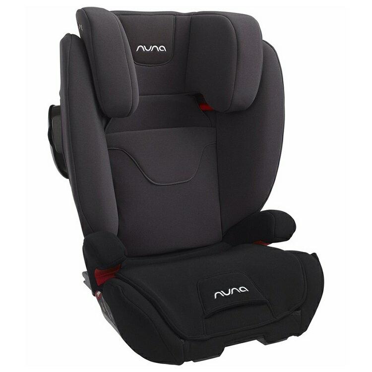 NUNA - Aace ISOFIX 成長型汽車安全座椅 -黑灰 贈品牌手提袋+可愛玩偶吊飾,加贈Nuby - EDI超純水柔濕巾88抽 24包/箱!! 0
