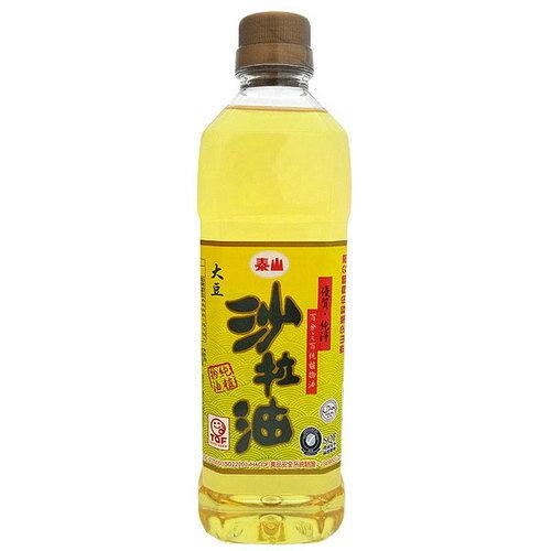 泰山 大豆 沙拉油 600ml
