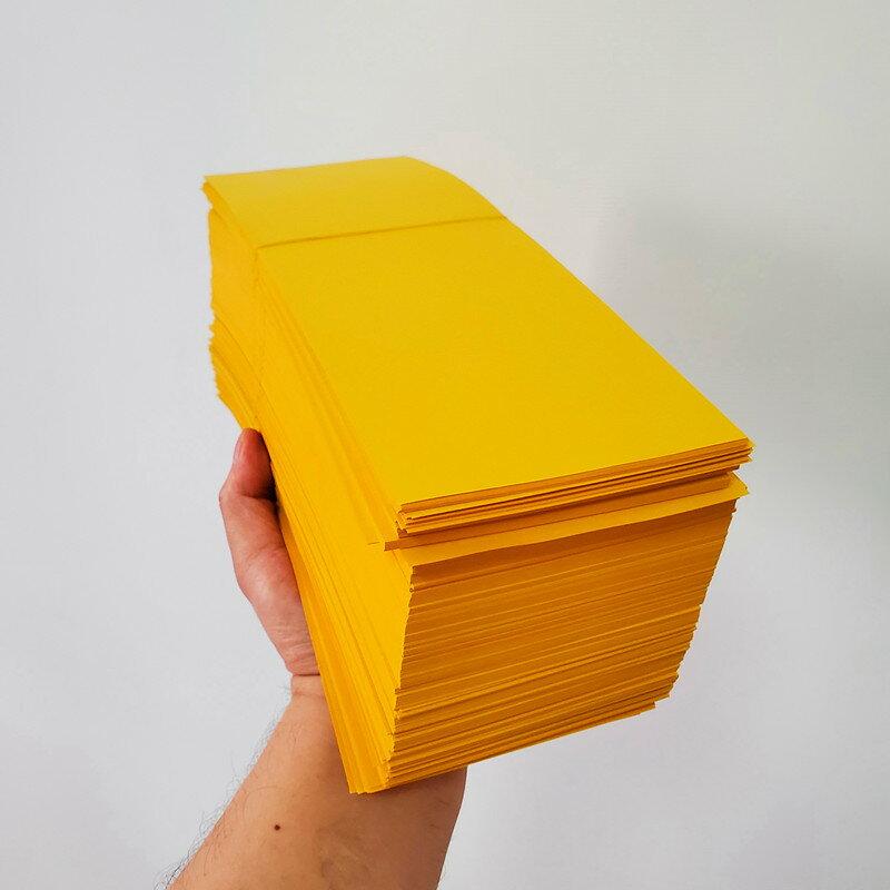 大號畫符紙約1000張1包 道教用品書符紙黃表紙黃紙道家用品