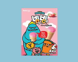 【Sweet MONSTER】甜心怪獸草莓甜筒餅乾(35.6g)