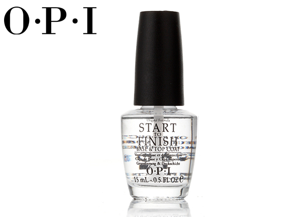 OPI Start to Finish 護甲亮光兩用指甲油 【T70】15ML  ☆真愛香水★