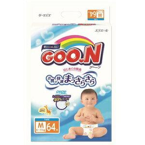 大王境內版紙尿褲M號64片/箱(4包)