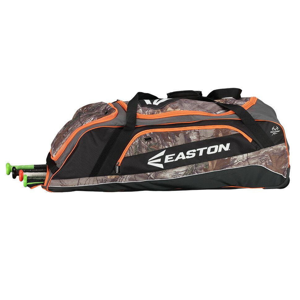棒球世界 EASTON 新款美式滾輪大型裝備袋(A163070系列) 迷彩配色 特價